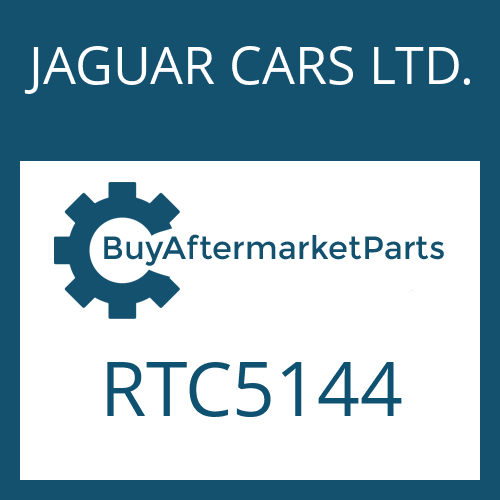 JAGUAR CARS LTD. RTC5144 - DISC CARRIER