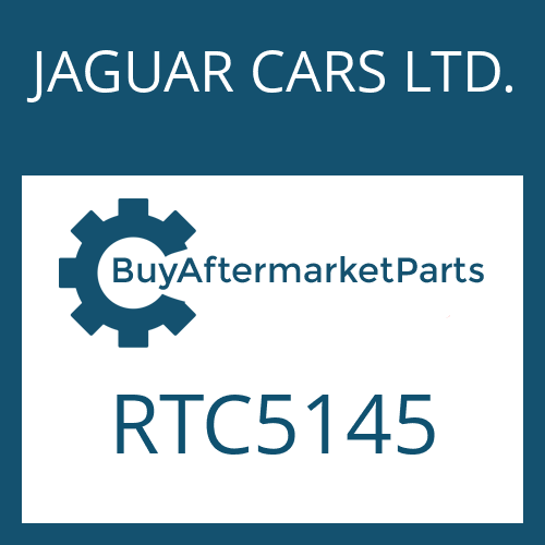 JAGUAR CARS LTD. RTC5145 - CYLINDER