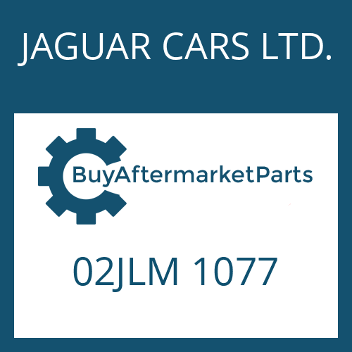 JAGUAR CARS LTD. 02JLM 1077 - PISTON RING