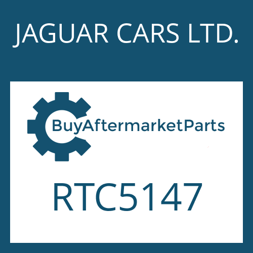 JAGUAR CARS LTD. RTC5147 - CUP SPRING