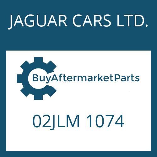 JAGUAR CARS LTD. 02JLM 1074 - LOCKING WASHER