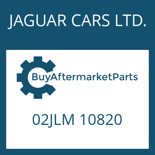 JAGUAR CARS LTD. 02JLM 10820 - RUNDDICHTRING