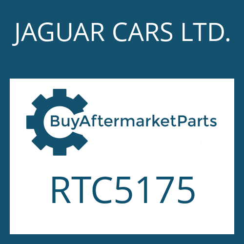 JAGUAR CARS LTD. RTC5175 - PISTON
