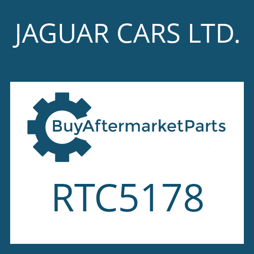 JAGUAR CARS LTD. RTC5178 - FREEWHEEL