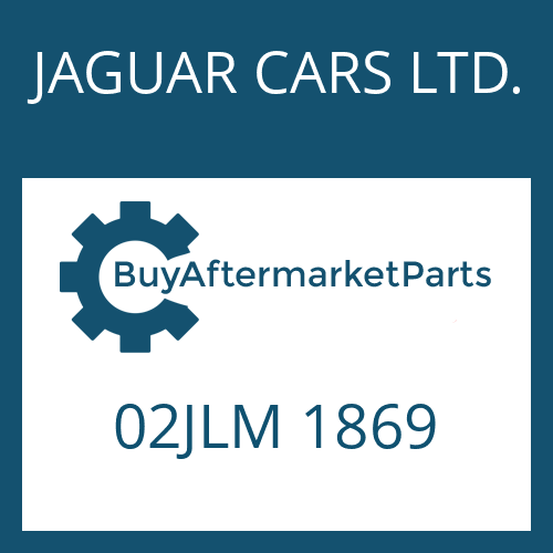 JAGUAR CARS LTD. 02JLM 1869 - PLUG