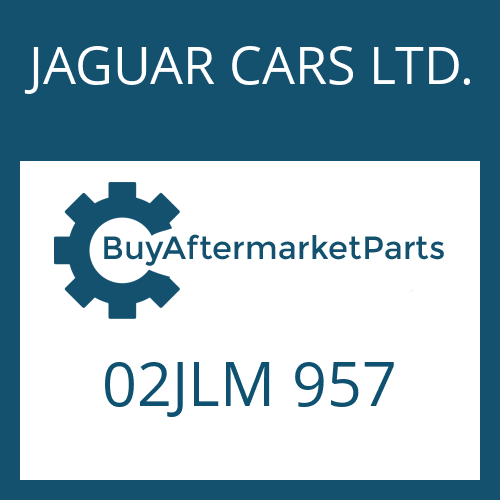 JAGUAR CARS LTD. 02JLM 957 - SPACER BUSHING