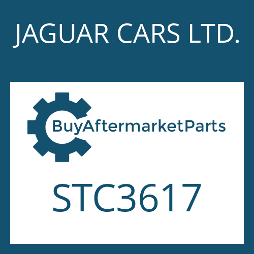 JAGUAR CARS LTD. STC3617 - OUTER CLUTCH DISC