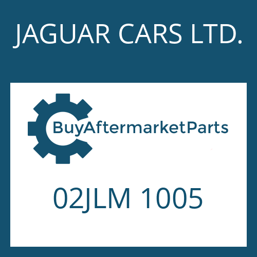 JAGUAR CARS LTD. 02JLM 1005 - SMALL COMP.SET