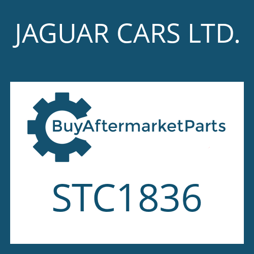 JAGUAR CARS LTD. STC1836 - PUMP