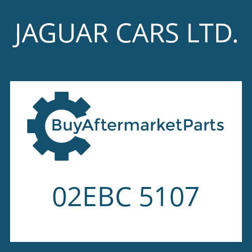 JAGUAR CARS LTD. 02EBC 5107 - CONTROL UNIT