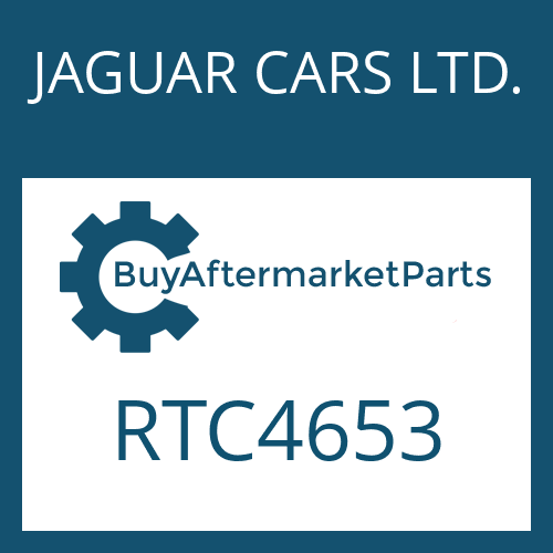 JAGUAR CARS LTD. RTC4653 - OELSIEB