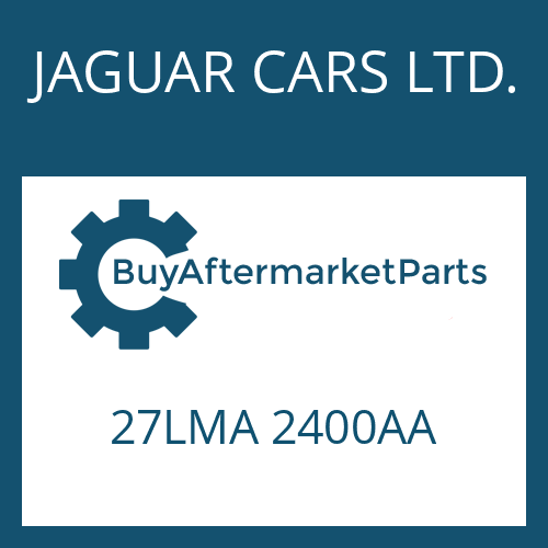 JAGUAR CARS LTD. 27LMA 2400AA - STEUERUNG