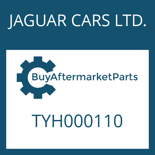 JAGUAR CARS LTD. TYH000110 - HALTER