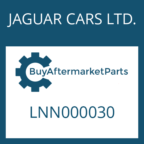 JAGUAR CARS LTD. LNN000030 - SOLENOID VALVE