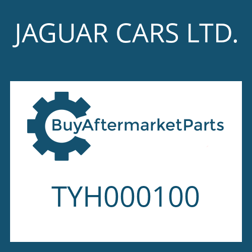 JAGUAR CARS LTD. TYH000100 - HALTEBLECH