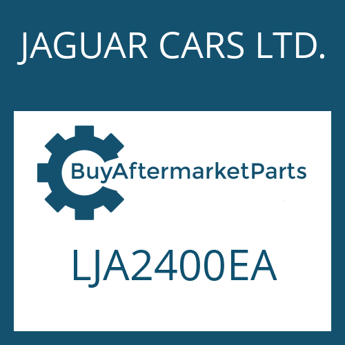 JAGUAR CARS LTD. LJA2400EA - EGS 2