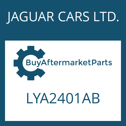 JAGUAR CARS LTD. LYA2401AB - EGS 2