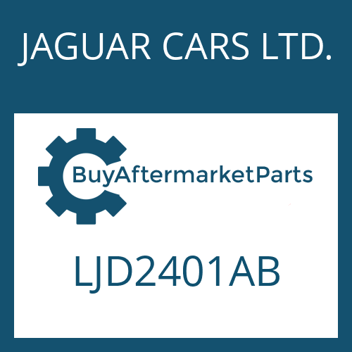 JAGUAR CARS LTD. LJD2401AB - EGS 2