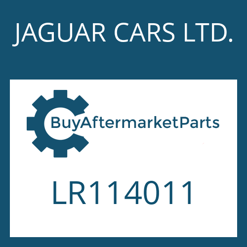 JAGUAR CARS LTD. LR114011 - SHIFT SYSTEM