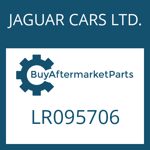 JAGUAR CARS LTD. LR095706 - WANDLER