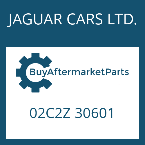 JAGUAR CARS LTD. 02C2Z 30601 - MECHATRONIC