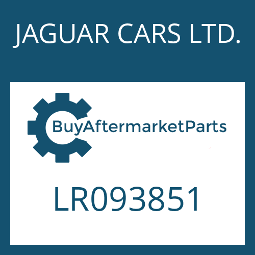 JAGUAR CARS LTD. LR093851 - MECHATRONIC