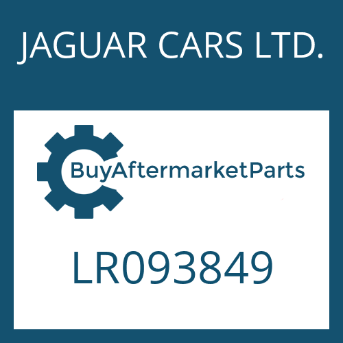 JAGUAR CARS LTD. LR093849 - MECHATRONIC