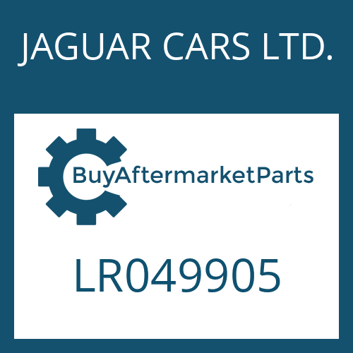 JAGUAR CARS LTD. LR049905 - CONVERTER