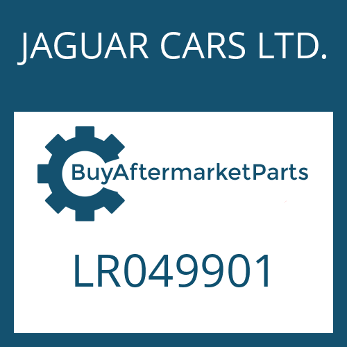JAGUAR CARS LTD. LR049901 - QUILL SHAFT