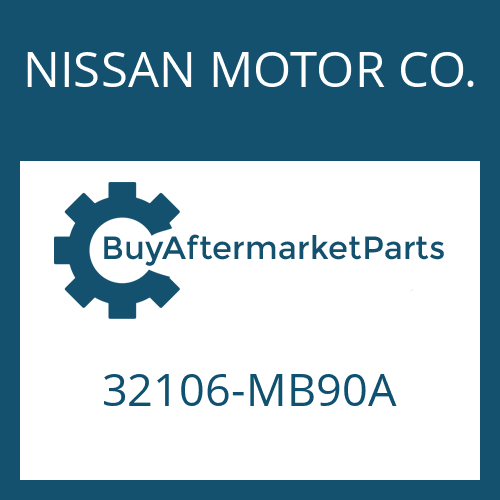 NISSAN MOTOR CO. 32106-MB90A - CYLINDRICAL PIN