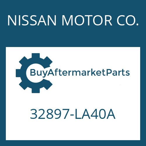 NISSAN MOTOR CO. 32897-LA40A - SHIFT LEVER