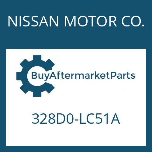 NISSAN MOTOR CO. 328D0-LC51A - TRANSMISSION ACTUATOR